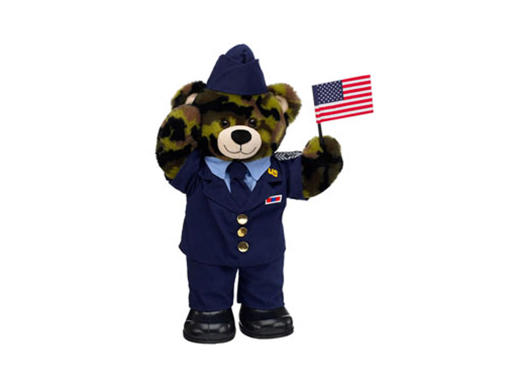11 Teddy Bears Dressed in Uniforms Make Great Gifts For Military Families