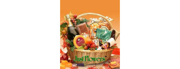 Thanksgiving Gourmet Snack Gift Basket